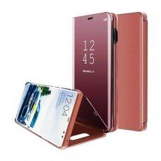"""Atverčiamas Plastikinis Dėklas """"Sview"""" Samsung Galaxy A70 Rožinis"""
