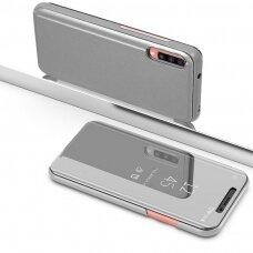 """Atverčiamas Plastikinis Dėklas """"Sview"""" Samsung Galaxy A70 Sidabrinis"""