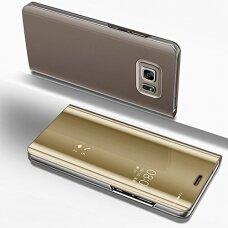 """Atverčiamas Plastikinis Dėklas """"Sview"""" Samsung Galaxy S7 G930 Auksinis"""