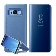 """Atverčiamas Plastikinis Dėklas """"Sview"""" Samsung Galaxy S8 Plus G955 Mėlynas"""