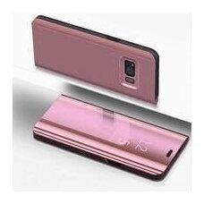 """Atverčiamas Plastikinis Dėklas """"Sview"""" Samsung Galaxy S8 Plus G955 Rožinis"""
