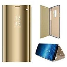"""Atverčiamas Plastikinis Dėklas """"Sview"""" Samsung Galaxy S9 G960 Auksinis"""