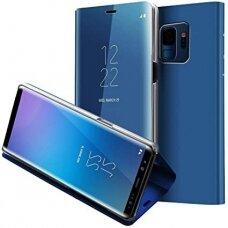 """Atverčiamas Plastikinis Dėklas """"Sview"""" Samsung Galaxy S9 G960 Mėlynas"""