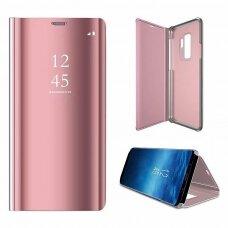 """Atverčiamas Plastikinis Dėklas """"Sview"""" Samsung Galaxy S9 G960 Rožinis"""