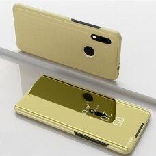 """Atverčiamas Plastikinis Dėklas """"Sview"""" Xiaomi Redmi Note 7 Auksinis"""