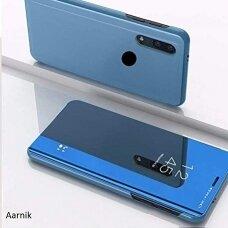 """Atverčiamas Plastikinis Dėklas """"Sview"""" Xiaomi Redmi Note 7 Mėlynas"""