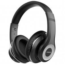 Ausdom Bevielės Ausinės Bluetooth 5.0 ANC (aktyvus triukšmo slopinimas) Juodos (ANC10)