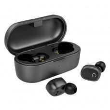 Ausdom Bevielės TWS Bluetooth 5.0 Ausinės ANC (aktyvus triukšmo slopinimas) Juodos (TW01S)