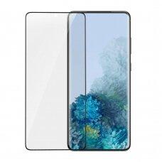 Baseus 3D apsauginė ekrano plėvelė 2vnt 0,15 mm Samsung Galaxy S20 juodas (SGSAS20-KR01) (ctz003) UCS003