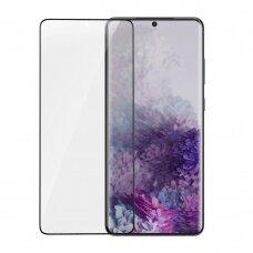 Baseus 3D apsauginė ekrano plėvelė 2vnt 0,15 mm Samsung Galaxy S20+ (S20 Plus) juodas (SGSAS20P-KR01) (czt001) UCS002