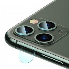 """KAMEROS APSAUGINIS STIKLAS 2 VNT. """"Baseus 0.15mm reinforced lens"""" iPhone 11 SKAIDRUS (SGAPIPH61S-JT02)   USC058"""
