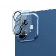 Baseus 2x 0,3 mm Kameros Apsauginis Stiklas iPhone 12 mini (SGAPIPH54N-AJT02)