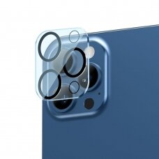 Baseus 2x 0,3 mm Kameros Apsauginis Stiklas iPhone 12 Pro (SGAPIPH61P-AJT02)