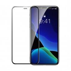 Baseus apsauginis stiklas 2 vnt iPhone 11 Pro / iPhone XS / iPhone X juodas (SGAPIPH58-WD01) (ctz009)