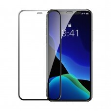 LCD Apsauginis Stiklas Baseus 2 Vnt Iphone 11 Pro Max / Iphone Xs Max Juodas