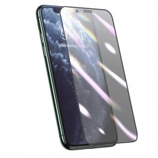Baseus 3D apsauginė plėvelė su  Anti-mėlynas Light filtru iPhone 11 Pro Max / iPhone XS Max juodas (SGAPIPH65S-HB01) (ctz008)