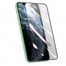 Apsauginė Ekrano Plėvelė Baseus 3D Su Anti-Spy Filtru Iphone 11 / Iphone Xr Juodas