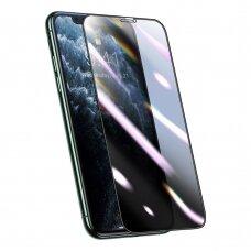 Apsauginė Ekrano Plėvelė Baseus 3D Su Anti-Spy Filtru Iphone 11 Pro / Iphone Xs / Iphone X Juodas