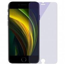 Baseus grūdintas stiklas su apsauga nuo mėlynos šviesos Anti-blue light 0,3 mm 9H  iPhone SE 2020 / iPhone 8 / iPhone 7 skaidrus (SGAPIPHSE-LB02) UCS062