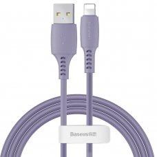 Baseus Colourful Cable Usb / Lightning 2.4A 1.2M Purple (Caldc-05)