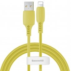 Baseus Colourful Cable Usb / Lightning 2.4A 1.2M Yellow (Caldc-0Y)