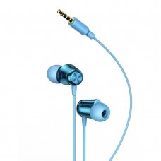 BASEUS ENCOK H13 IN-EAR EARPHONE 3.5MM MINI JACK HEADSET WITH REMOTE CONTROL BLUE (NGH13-03)