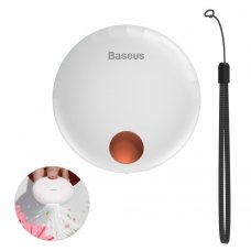 BASEUS FLOWER SHELL PORTABLE AROMATHERAPY DIFFUSER UNPLEASANT ODORS REMOVER WHITE (SUXUN-HB02)