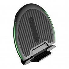 BASEUS FOLDABLE MULTIFUNCTION WIRELESS CHARGER QI INDUCTIVE PAD 10W + USB / MICRO USB 1M BLACK (WXZD-01) EX-DISPLAY