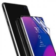 """Apsauginė Plėvelė Pilnai Dengianti Ekraną """"Baseus 3D Pet 0,15 Mm"""" Samsung Galaxy S10 Plus Juodas (Sgsas10P-Kr01)"""