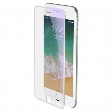 """Apsauginis Stiklas Pilnai Dengiantis Ekraną """"Baseus Anti-Blue Light 3D """" Apple Iphone 8 Plus / 7 Plus / 6S Plus / 6 Plus Baltais Kraštais (Sgapiph8P-Wb02)"""