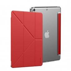 """Išmanus atverčiamas planšetės dėklas """"Baseus Jane Smart """" iPad 10,2'' 2019 raudonas (LTAPIPD-G09) (ndw24)"""