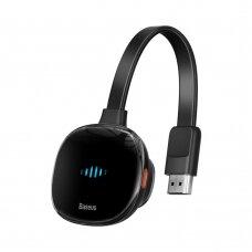 Adapteris Baseus Meteorite Shimmer wireless display adapter WiFi - HDMI juodas