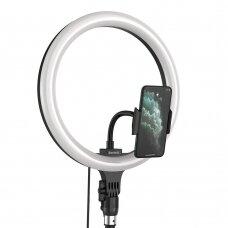 Baseus blykstė nuotraukoms LED lempa 12'' skirtas išmaniesiems telefonams (YouTube, TikTok)