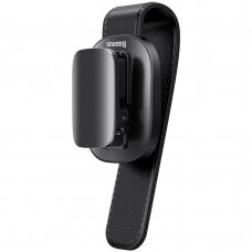 Baseus platinum vehicle eyewear clip clamping type juodas (ACYJN-B01) (ctz220)