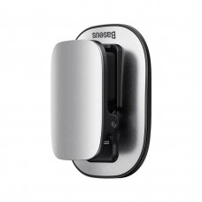 Baseus platinum vehicle eyewear clip paste type sidabrinis (ACYJN-A0S) (ctz220)
