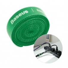 Baseus Rainbow Circle Velcro Straps To Organizing Cables 1M Green (Acmgt-E06)