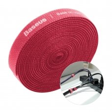 Baseus Rainbow Circle Velcro Straps To Organizing Cables 3M Red (Acmgt-F09)
