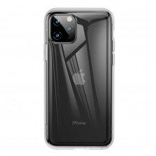 """Gelinis Dėklas Sutvirtintais Kraštais """"Baseus Safety Airbags""""  Iphone 11 Pro Max Permatomas (Arapiph65S-Sf02)"""