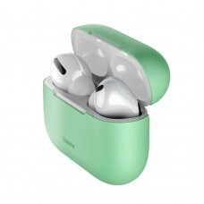 Baseus Silica Gel Case Protector for Apple Airpods Pro žalias (WIAPPOD-ABZ06) (ctz220)