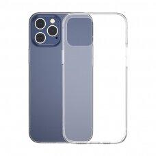 BASEUS SIMPLE SERIES CASE SKAIDRUS GEL TPU COVER iPhone 12 Pro / iPhone 12 Permatomas (ARAPIPH61P-02)