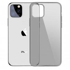 """Tpu Dėklas """"Baseus Simple """" Iphone 11 Pro Max Juodas (Arapiph65S-01)"""
