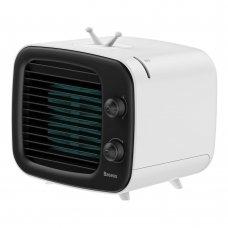 BASEUS TIME DESKTOP EVAPORATIVE COOLER FAN WINDMILL AIR-COLLER ICE WATER WHITE+BLACK (CXTM-21)