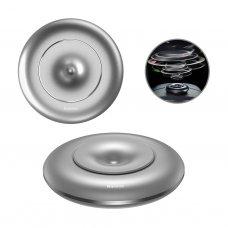 Baseus Vortex Car Air Freshener Holder - Dashboard Car Fragrance Silver (Suxun-Qx0S)