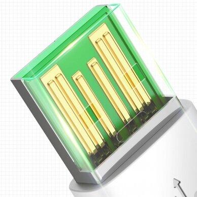 Baseus Mini White Kabelis USB skirtas Micro 4A 1m Baltas 15