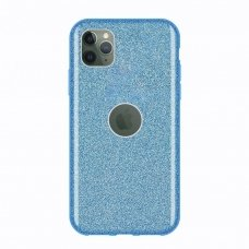 "Blizgantis Tpu Dėklas ""Wozinsky Glitter Shining"" Iphone 11 Pro Max Mėlynas"