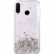 """Blizgus Tpu Dėklas """"Wozinsky Star Glitter"""" Huawei P30 Lite Permatomas"""