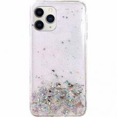 "Blizgus Tpu Dėklas ""Wozinsky Star Glitter"" Iphone 11 Pro Max Permatomas"