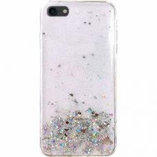 """Blizgus TPU Dėklas """"Wozinsky Star Glitter"""" iPhone 8 Plus / iPhone 7 Plus skaidrus"""