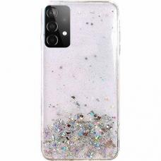 Blizgus Tpu Dėklas Wozinsky Star Glitter Samsung Galaxy A32 5G permatomas