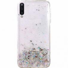 "Blizgus Tpu Dėklas ""Wozinsky Star Glitter"" Samsung Galaxy A50 Skaidrus"